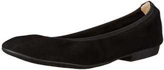 Nine West Women's Giovedi Suede Ballet Flat $69 thestylecure.com