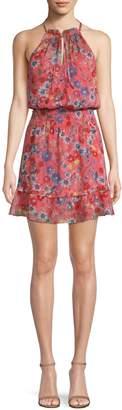 Parker Serenity Floral Popover Dress