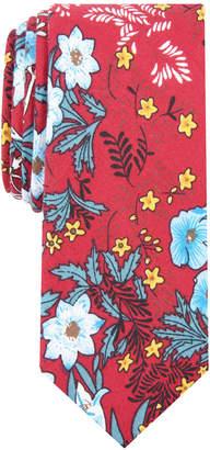 Bar III Men's Eliot Slim Floral Tie