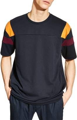 Topman Oversize Panel T-Shirt