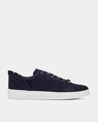 Ted Baker ASTRIND Ruffle detail trainers