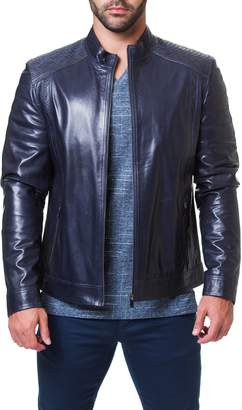 Maceoo Mamba Shaped Fit Leather Jacket