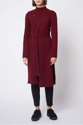Dagmar Loretta Lambswool Sweater Burgundy