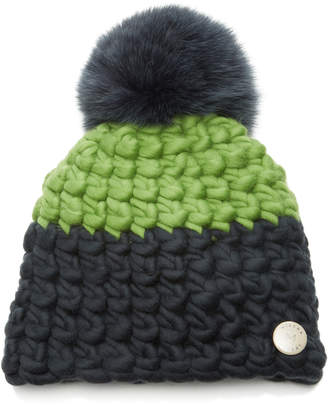 Mischa Lampert Deep Color-Block Children's Beanie