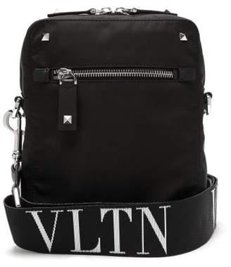 Valentino - Stud Embellished Nylon Bag - Mens - Black