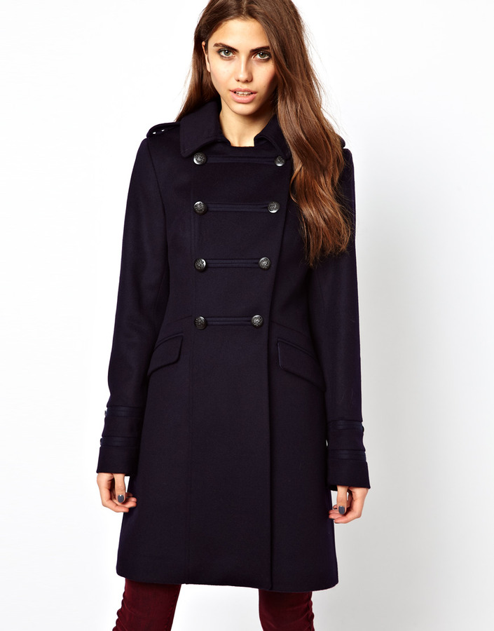 Cooper & Stollbrand Military Coat in Wool
