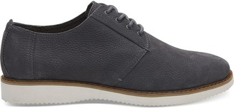 Toms Forged Iron Grey Nubuck Men's Preston Dress Shoes
