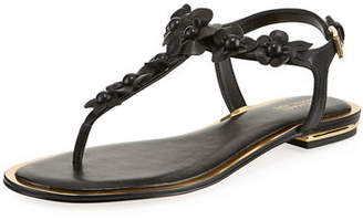 MICHAEL Michael Kors Tricia Flower Thong Sandal
