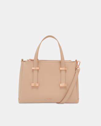 f521291e3ff Ted Baker JULIEET Adjustable handle small leather tote bag