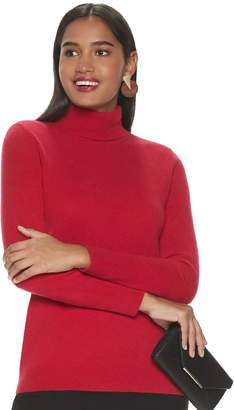 Apt. 9 Women's Cashmere Turtleneck Sweater