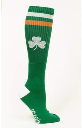 Donegal Bay Irish St Patrick's Day Green Tube Socks