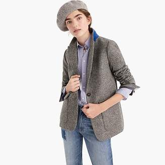 J.Crew Oversized blazer in English herringbone wool