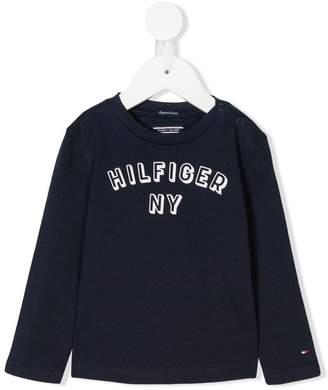 Tommy Hilfiger Junior logo printed T-shirt