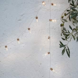 The White Company Glass-Jar Fairy Lights - 20 Bulbs