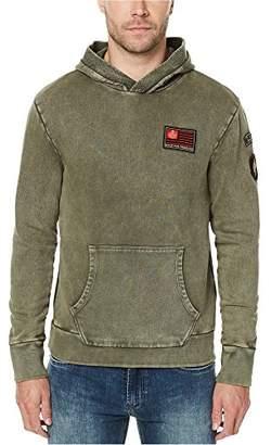 Buffalo David Bitton Men's Famet Long Sleeve Hoodie Fashion Sweatshirt
