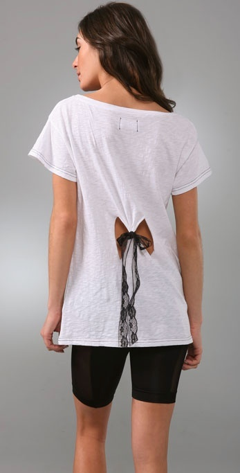 Sauce Lace Bow Tee