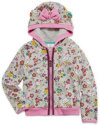 Disney Minnie Mouse Lightweight Fleece Jacket-Toddler Girls
