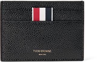Pebble-Grain Leather Cardholder $290 thestylecure.com