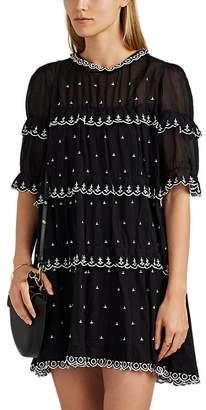 Etoile Isabel Marant Women's Lyin Embroidered Cotton Dress