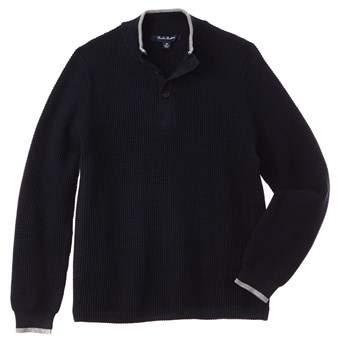 Boys' Mock Neck Sweater.