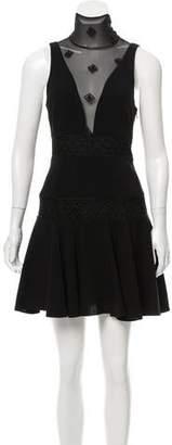 Cinq à Sept Embroidered Mini Dress