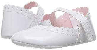 Janie and Jack Eyelet Crib Shoe Girls Shoes
