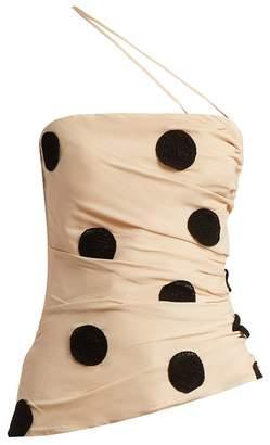 Jacquemus Bruella polka-dot top