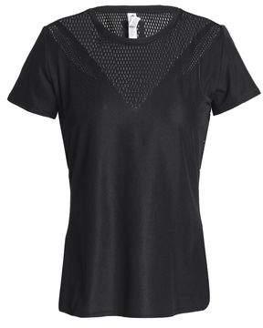 adidas Mesh-Paneled Stretch-Jersey T-Shirt