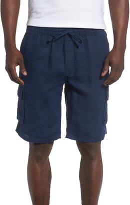 Onia Linen Cargo Shorts