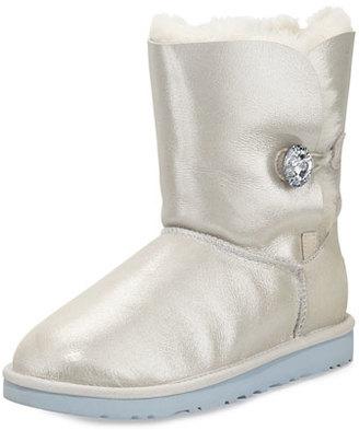 UGG I Do! Bailey Swarovski® Crystal Bridal Boot, White $225 thestylecure.com