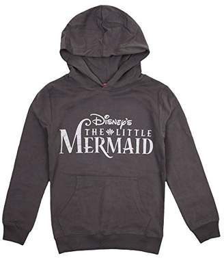 Disney The Little Mermaid Girl's Logo Hoodie