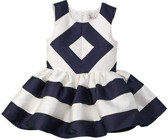 Halabaloo Girls' Diamond Check Dress