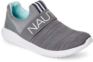 Nautica Radical Grey Canvey Slip-On Sneakers