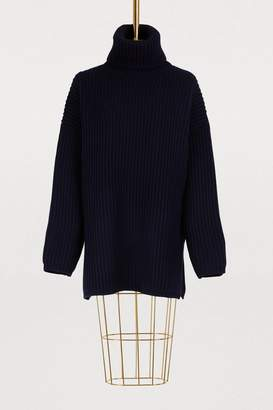 Acne Studios Oversized turtleneck wool sweater