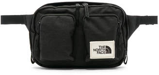 The North Face Kanga Bag in TNF Black Heather | FWRD