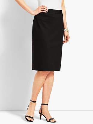 Talbots Refined Ponte Pull-On Pencil Skirt