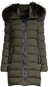 Mackage Calla Fox Fur Down Coat