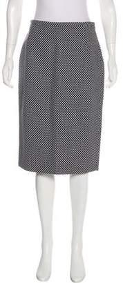 Michael Kors Patterned Knee-Length Skirt w/ Tags