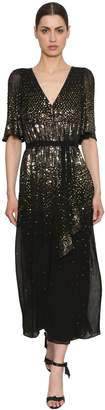 Temperley London Sequined Wide Leg Jumpsuit