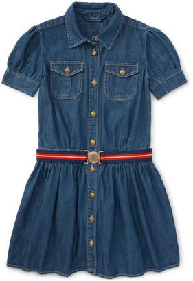 Ralph Lauren Denim Shirtdress, Big Girls (7-16) $59.50 thestylecure.com