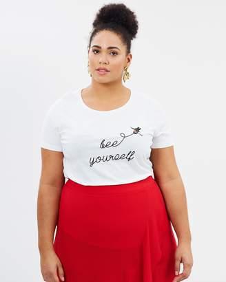 Junarose Front Printed T-Shirt