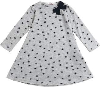 Il Gufo Stars Knit Viscose Dress