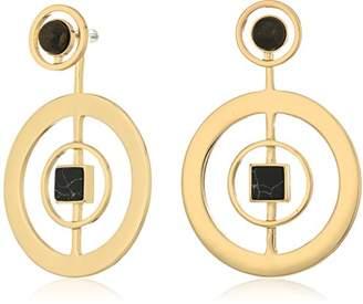 Danielle Nicole Albers Hoop Earrings