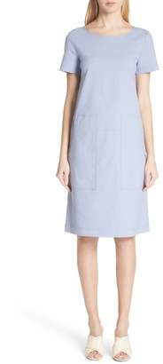 Lafayette 148 New York Farah Catalina Stretch Canvas Dress