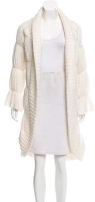 Giorgio Armani Textured Wool Cardigan w/ Tags