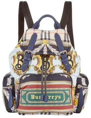 Burberry Nylon Logo Rucksack