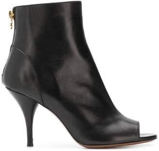 L'Autre Chose peep-toe ankle boots