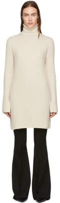 Joseph White Wool Tunic Dress
