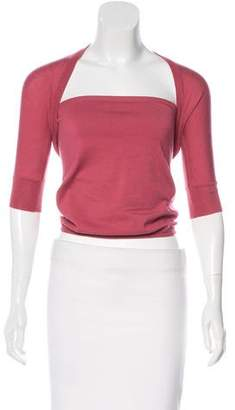Alexander McQueen Cashmere Cardigan and Top Set