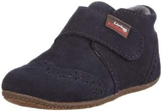 Living Kitzbühel Velcro Velour Leather, Baby Boys Walking Baby Shoes,4 Child UK ( EU)